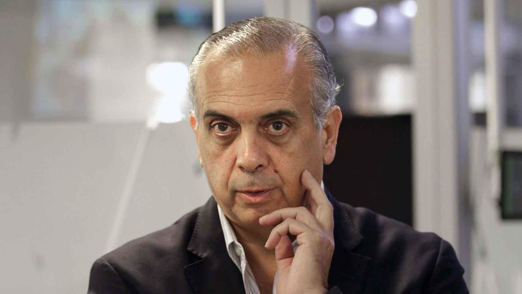 Jose Luis Saez, presidente de la Federación Española de Baloncesto.