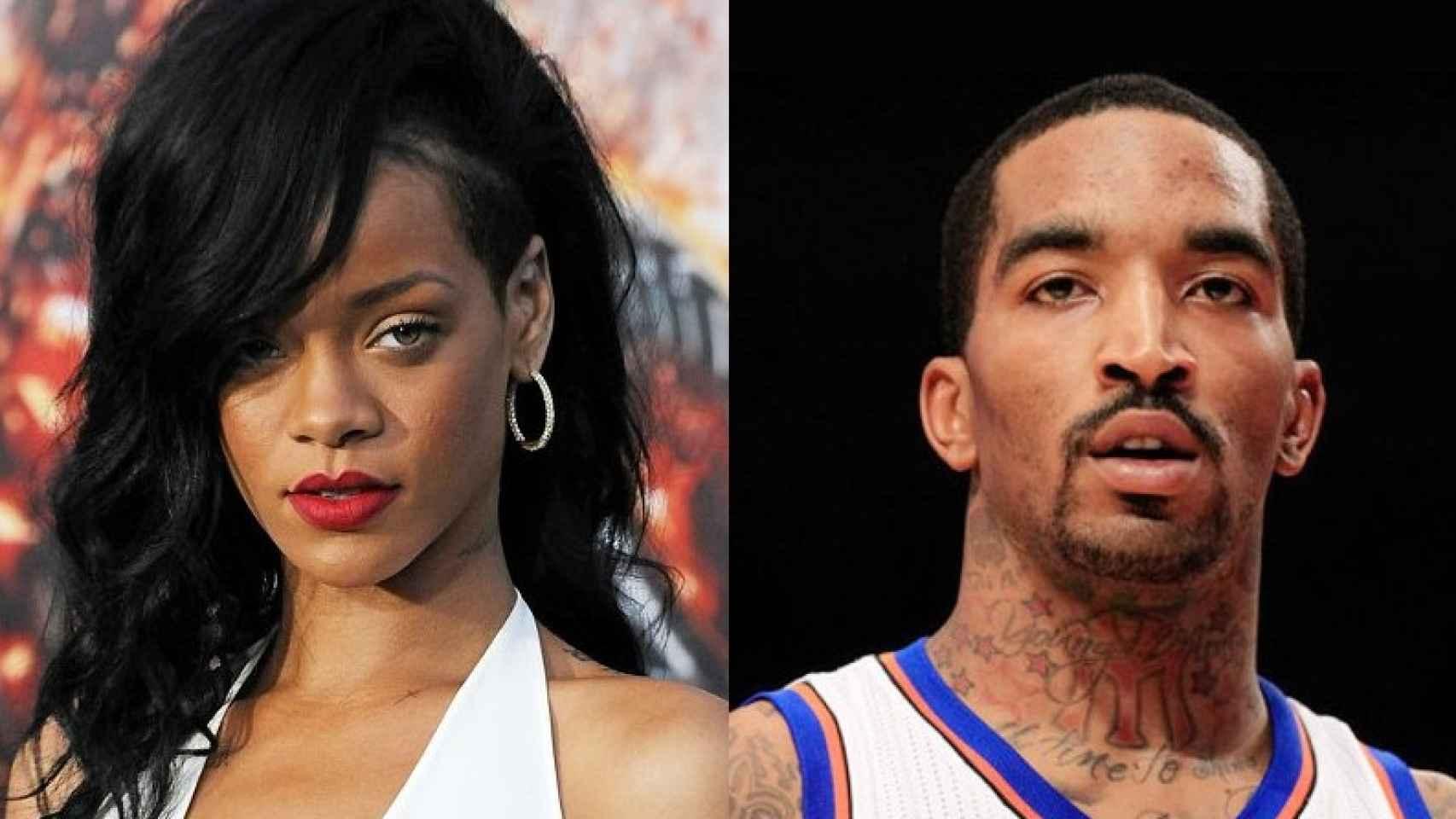 Rihanna y JR Smith se arrepienten de haber salido el uno con el otro