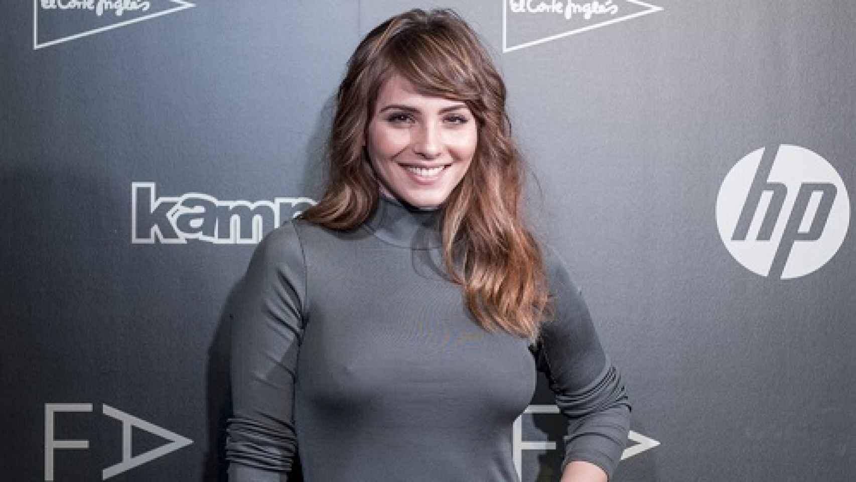 Andrea Duro posa en la I pasarela Fashion Academy de El Corte Inglés