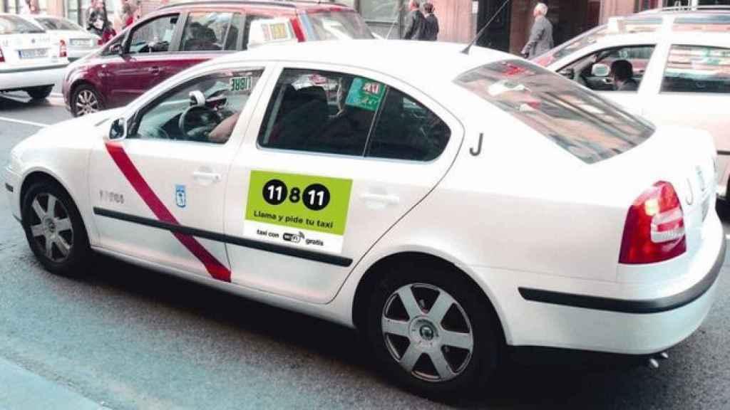 Un taxi en una imagen de archivo.