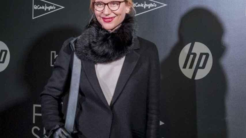 María León en el desfile de la I Fashion Academy de El Corte Inglés