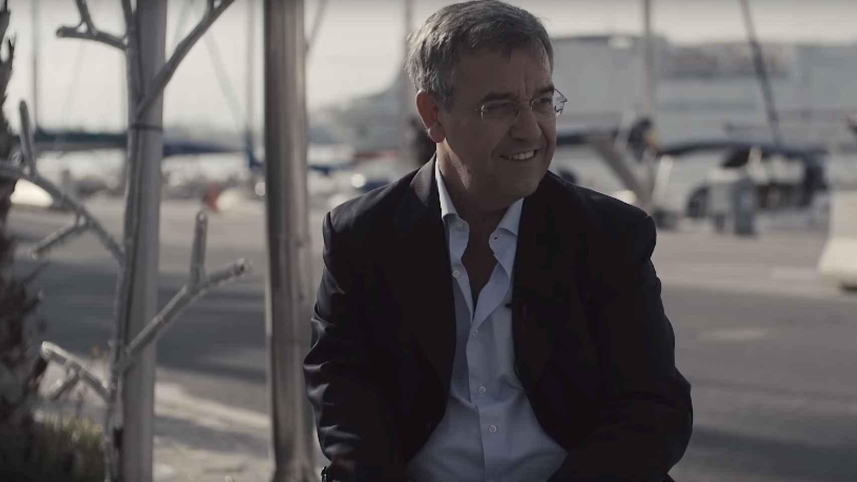 José María García Urbano en Estepona, provincia de Málaga.