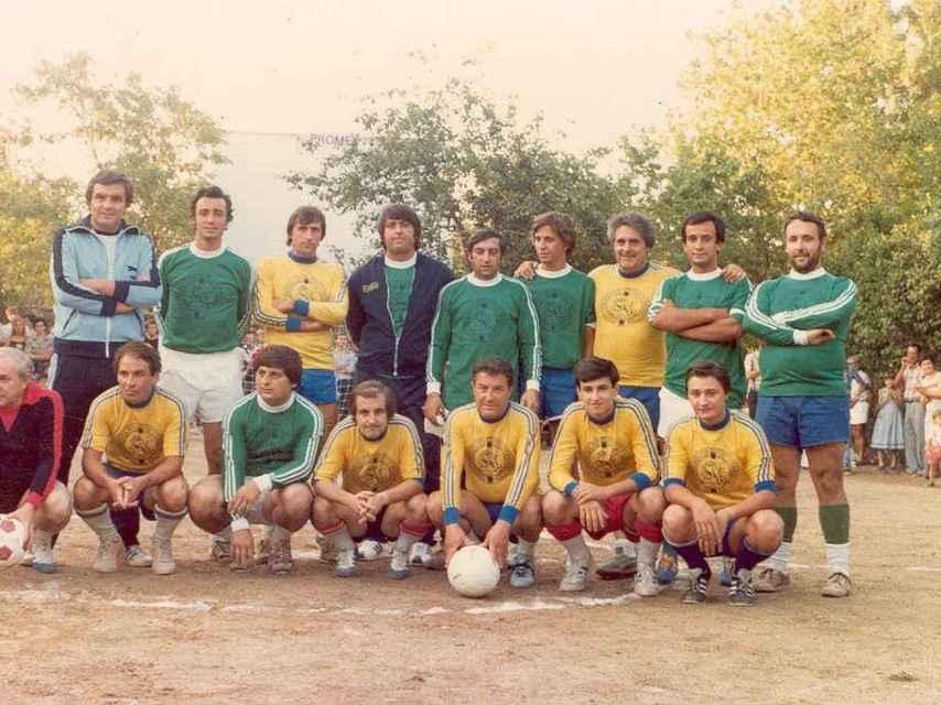 García jugó un partido de fútbol en Torrelodones varios años antes del mitin