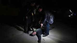 Uno de los heridos en el atentado en Kabul. Shah Marai / AFP