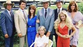 Los protagonistas de 'Dallas' (CBS)