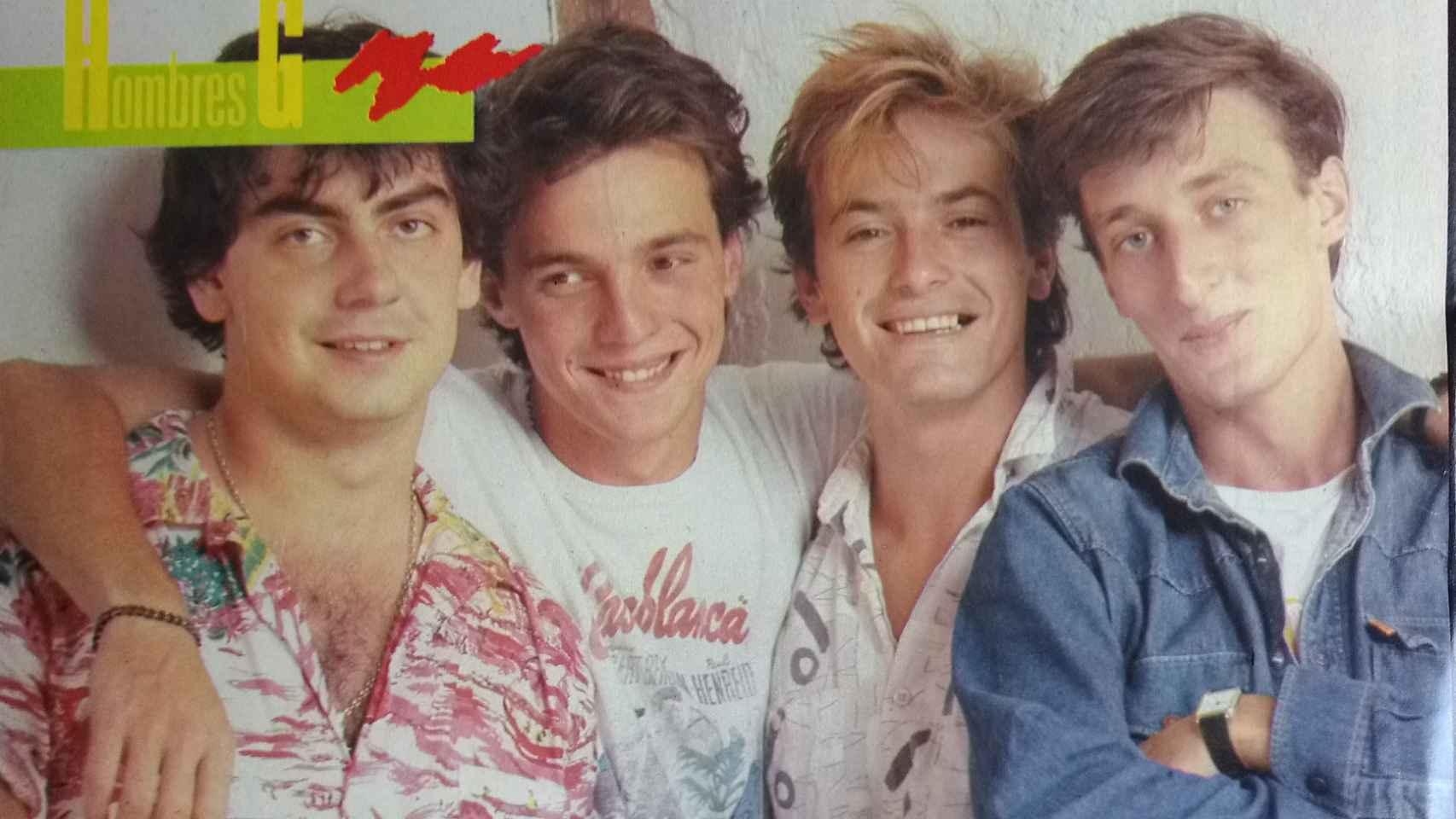 Uno de los posters del grupo que publicó la revista