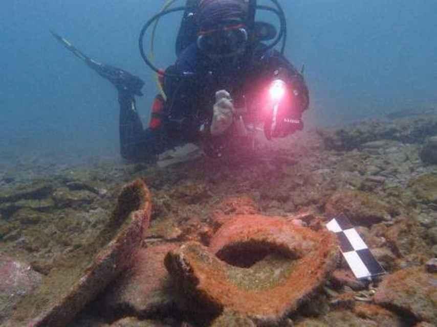 Un momento de los arqueólogos trabajando en el yacimiento panameño.