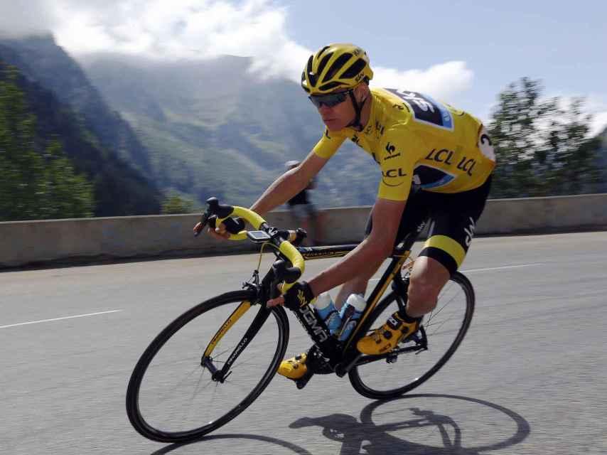 Froome en una etapa del Tour de Francia.