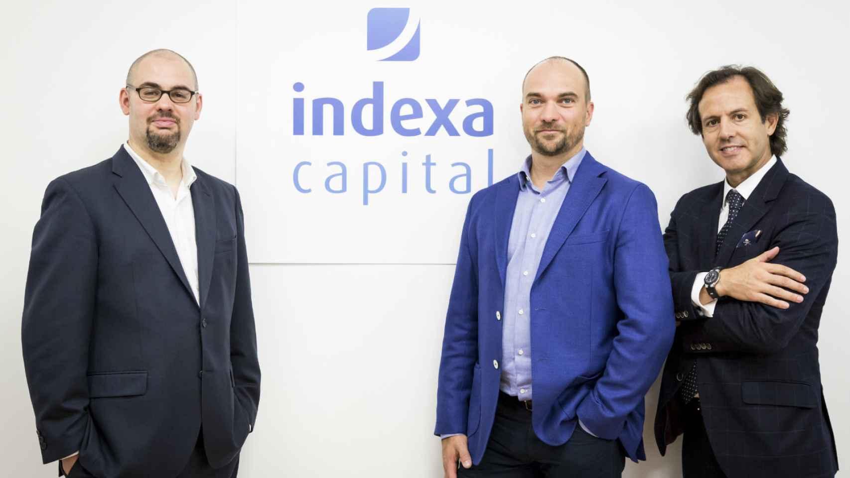 El equipo fundador de Indexa Capital.