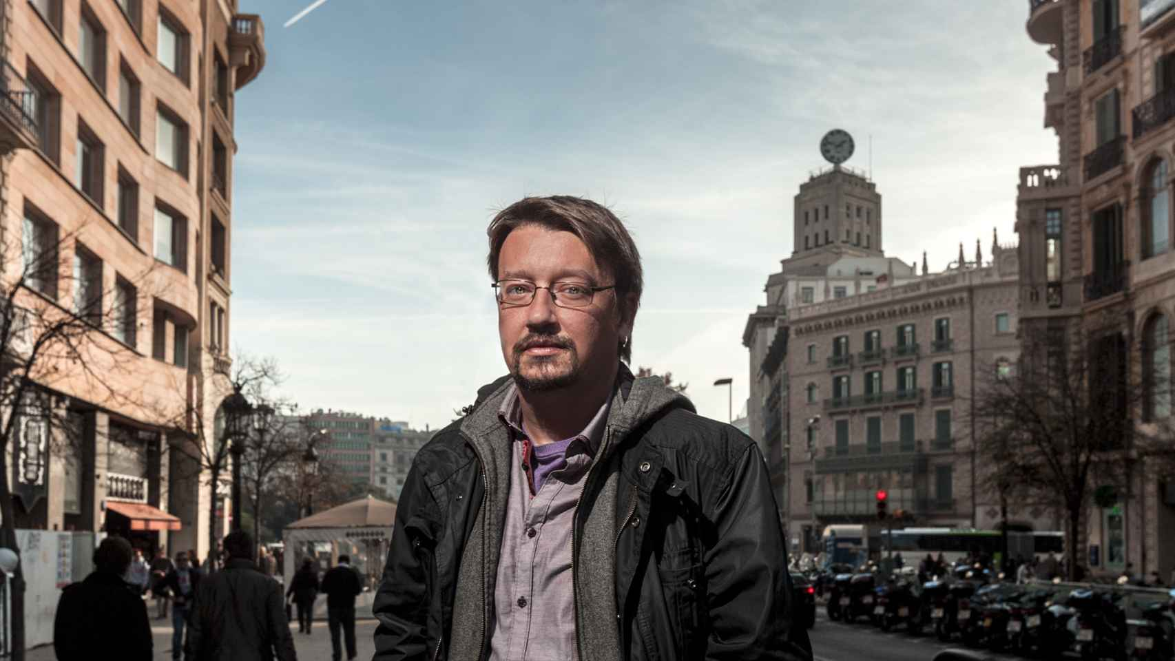 Domenèch es el número uno de la candidatura catalana En Comú Podem.
