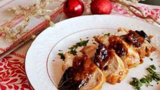 Menú de Navidad sin lactosa