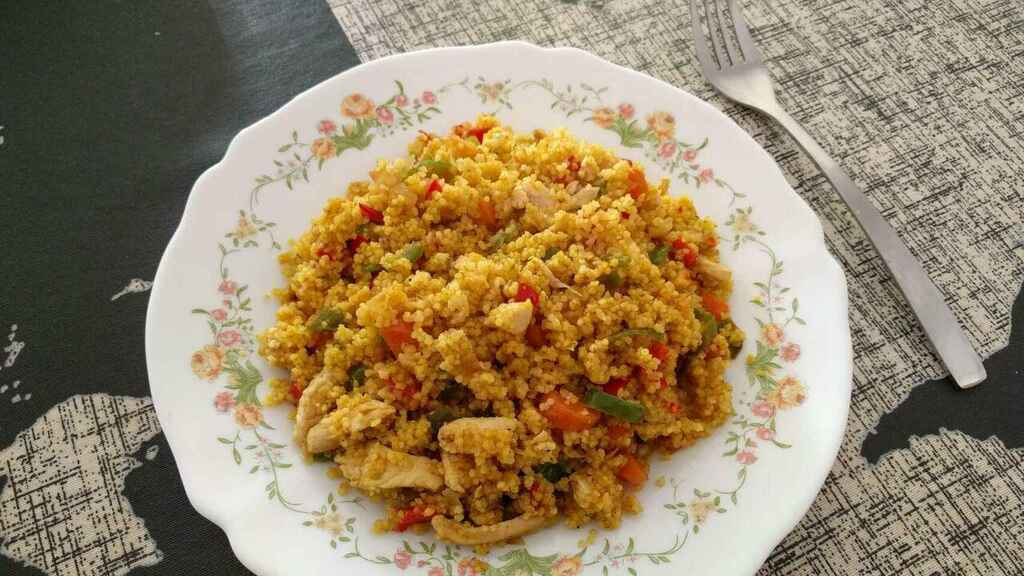 Cuscús Con Pollo Al Curry Receta Paso A Paso