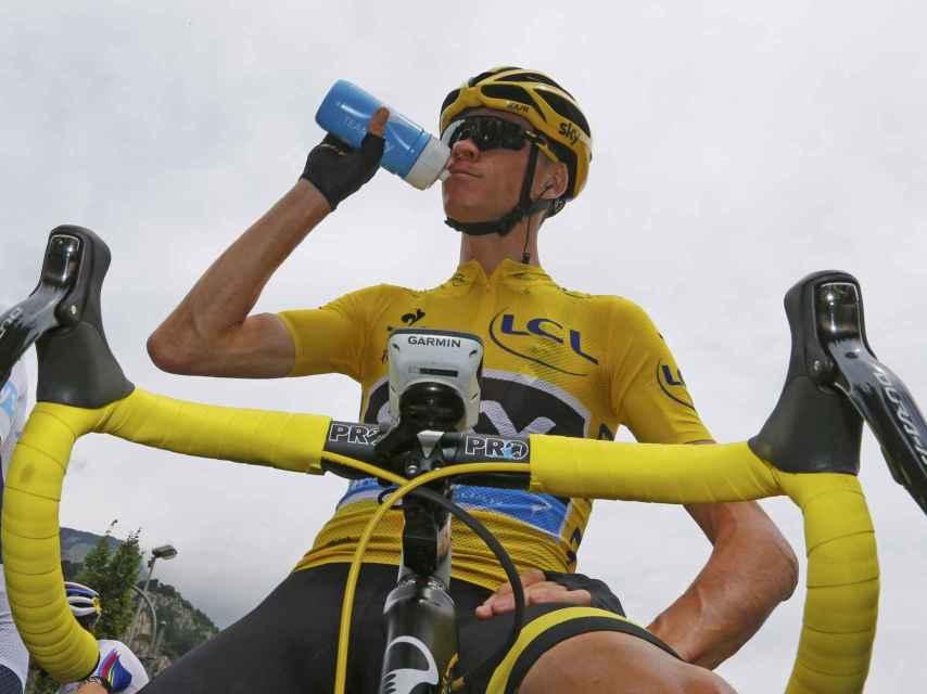 Chris Froome durante el último Tour de Francia.