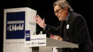 El presidente de la Generalitat en funciones y líder de CDC, Artur Mas.
