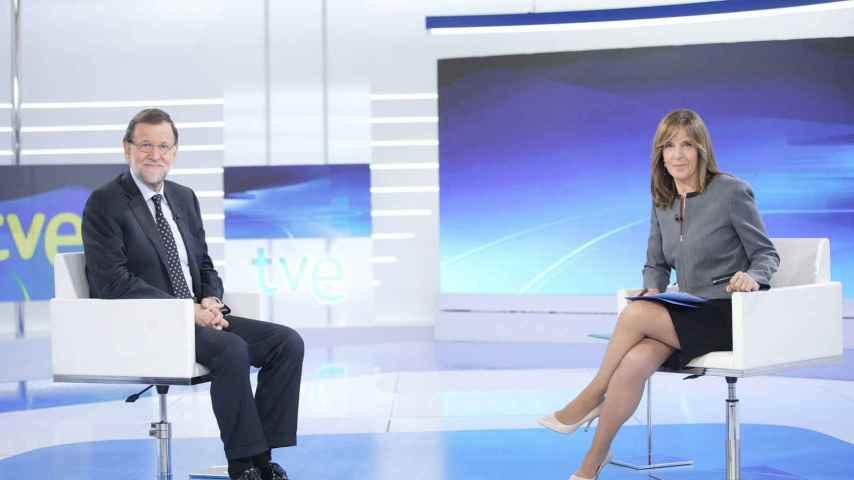 Mariano Rajoy fue entrevistado por Ana Blanco el 27 de octubre.