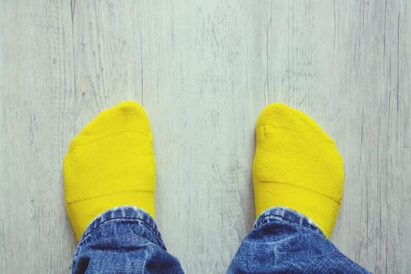 calcetines orina