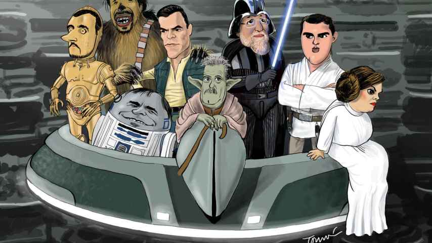 Así es el Star Wars de Campo Vidal como Yoda
