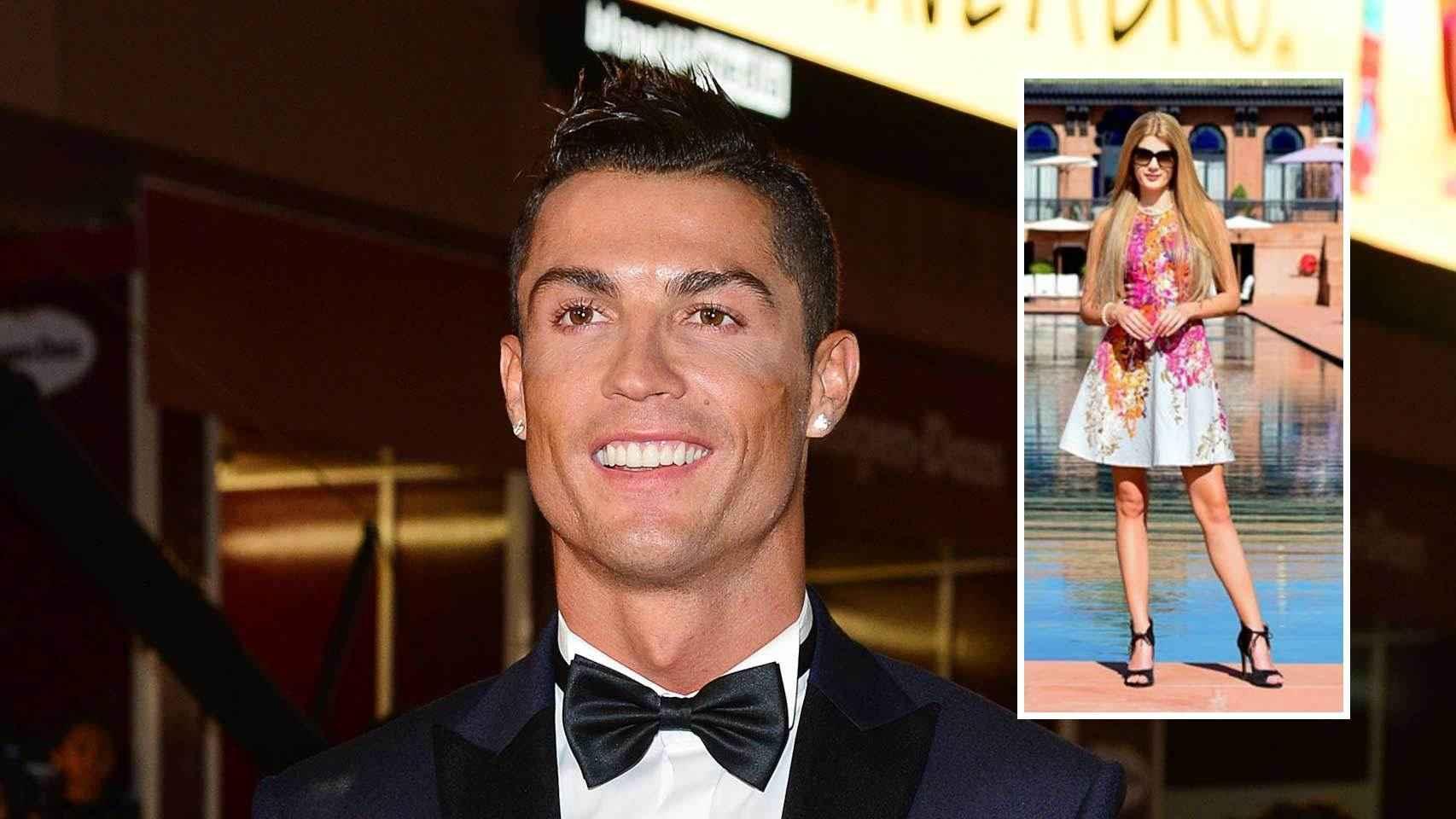 El futbolista portugués estaría saliendo con esta modelo que conoció en Marruecos