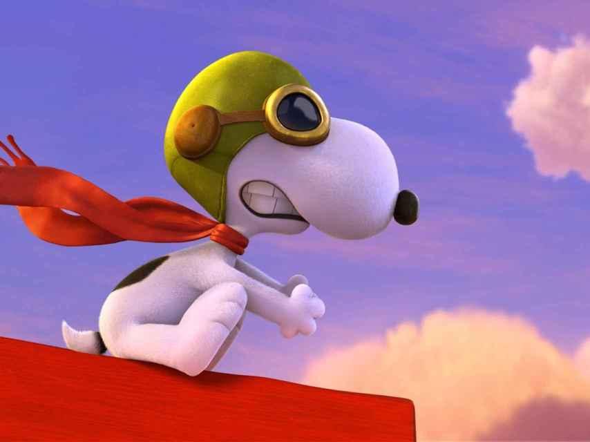 Snoopy, en un fotograma del filme