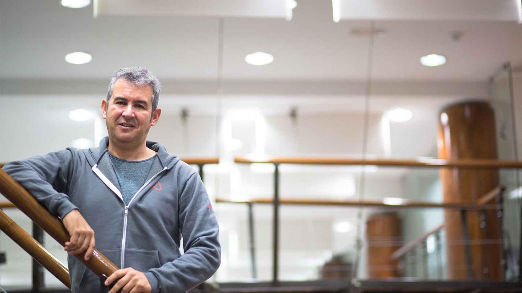 El máximo dirigente de Airbnb, Arnaldo Muñoz.