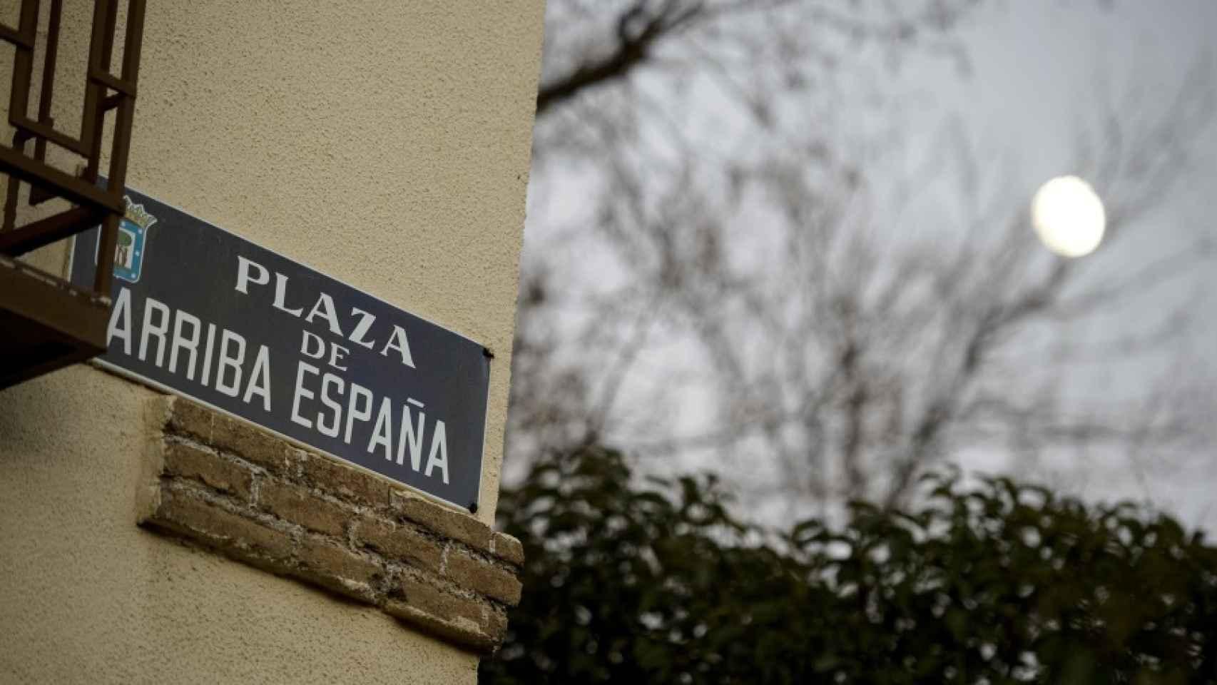 Otra de las plazas que desaparecerán del callejero, en Chamartín.