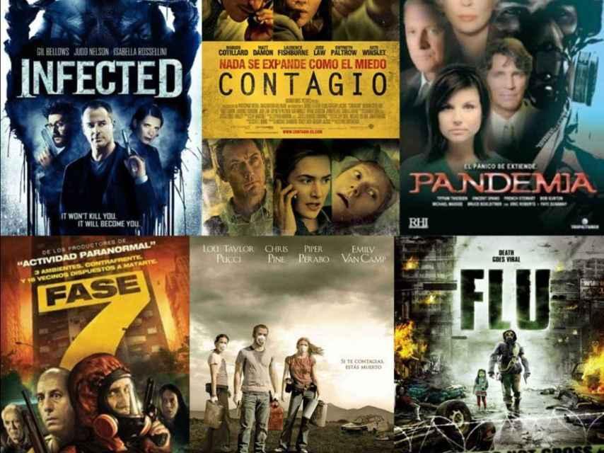 Se han producido docenas de películas sobre virus en los últimos años.