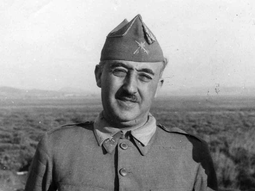 Francisco Franco, el 27 de agosto de 1937