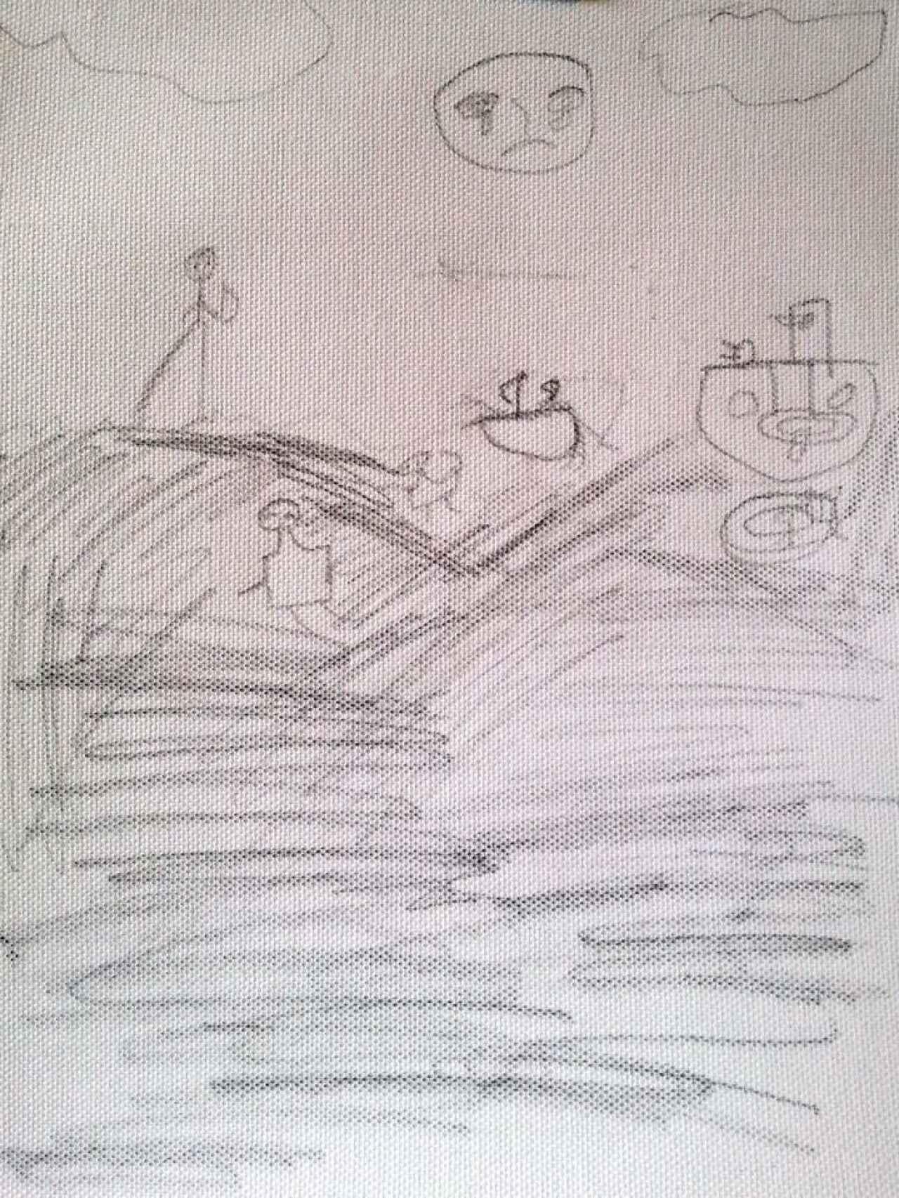 Dibujo de Abdulhamid.