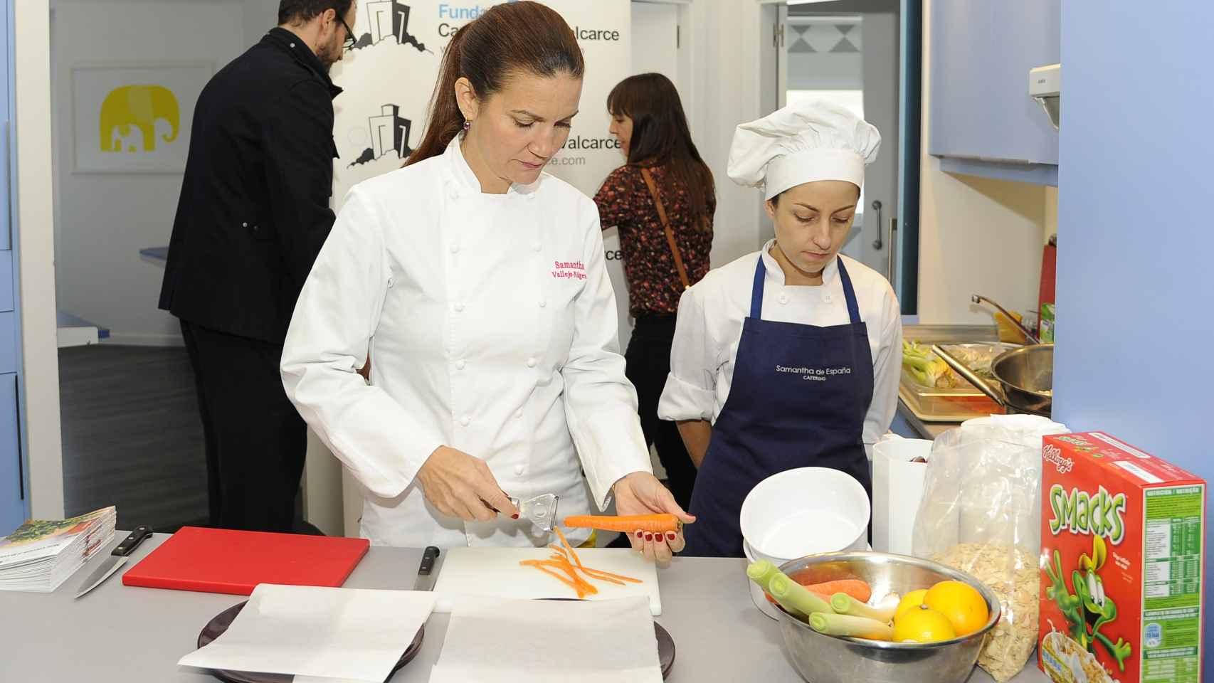 La jurado de Master Chef es una excelente profesora de cocina