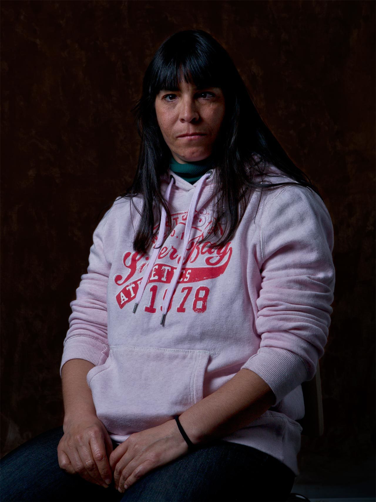 Rocío denuncia que a las personas sin hogar se las trata como basura.