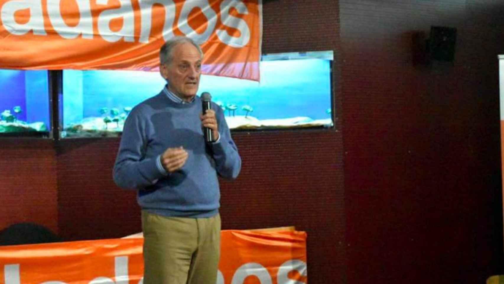 Jesús Tejada, candidato de Ciudadanos por Huesca.