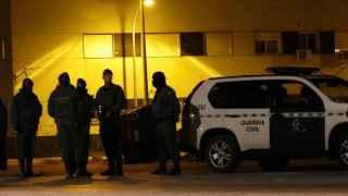 La Guardia Civil hace guardia en Roquetas de Mar