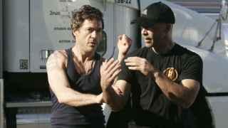 Robert Downey Jr. practica Wing Chun Kung Fu con su entrenador Eric Oram