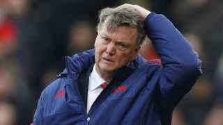 Van Gaal tras la derrota contra el Stoke.