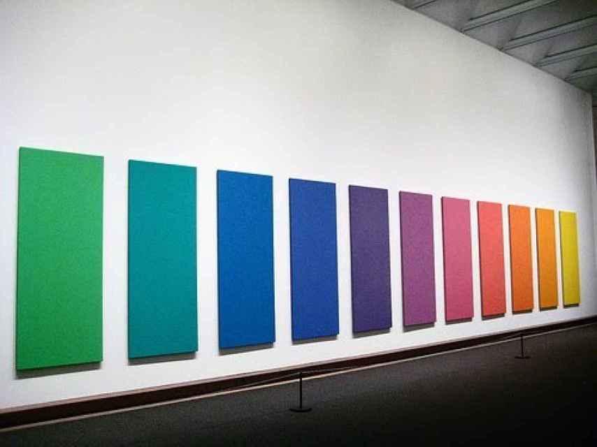 La obra Spectrum, de 1969.