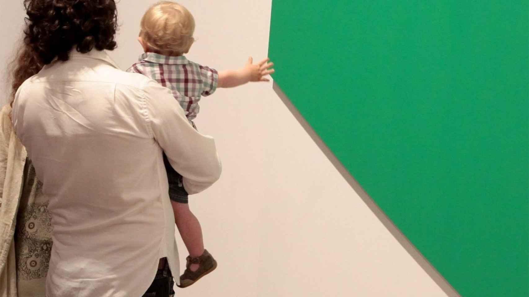 El pintor pretendía el placer para los espectadores.
