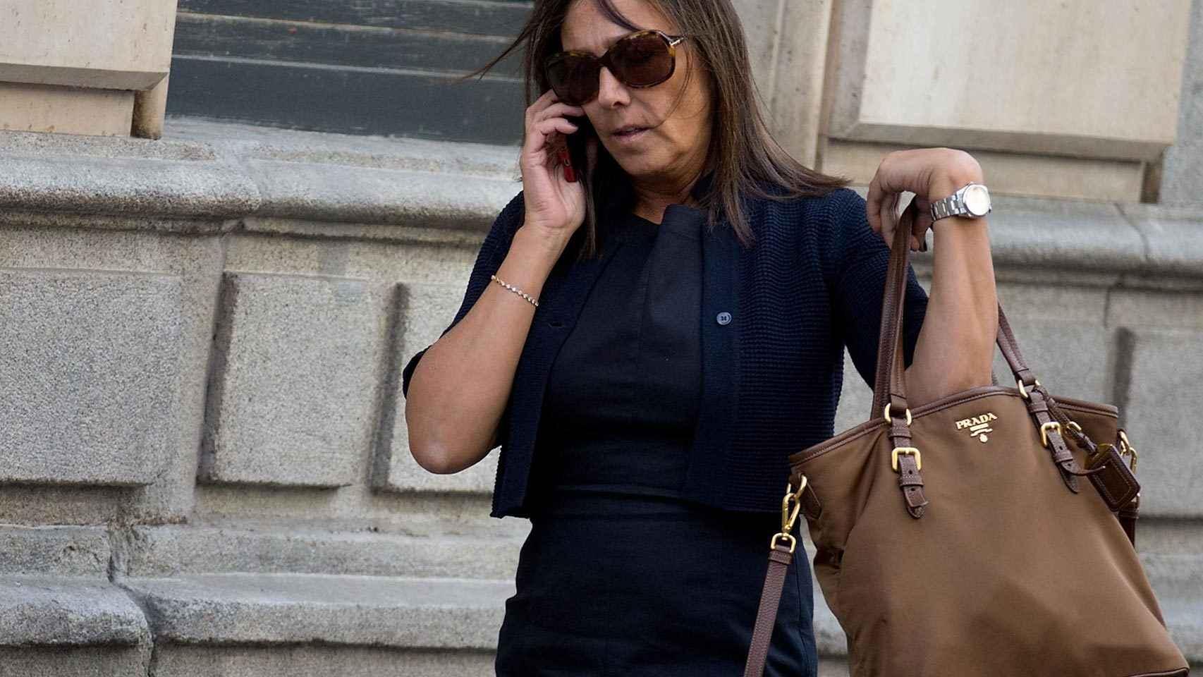 La mujer de Pujol Jr. vació una caja fuerte al publicarse el borrador de la UDEF