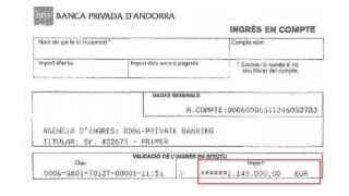 El día que Jordi Pujol Jr. Ingresó más de un millón en billetes