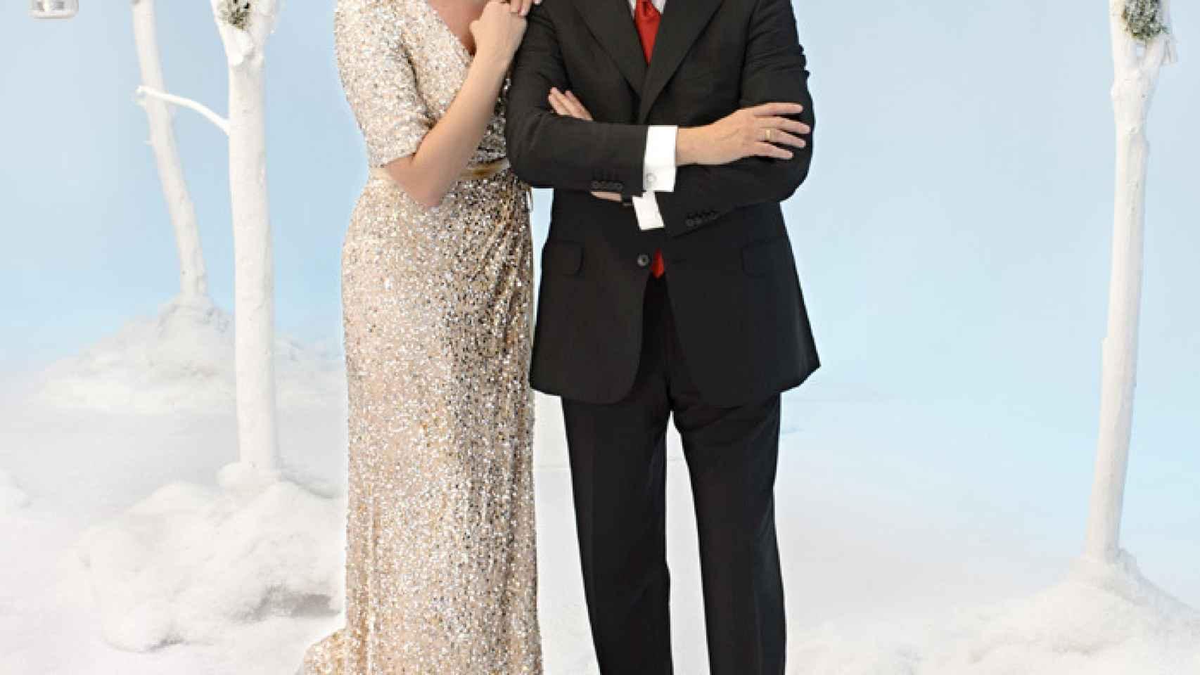 Anne Igartiburu y Ramón García son un clásico de la Nochevieja en la cadena pública
