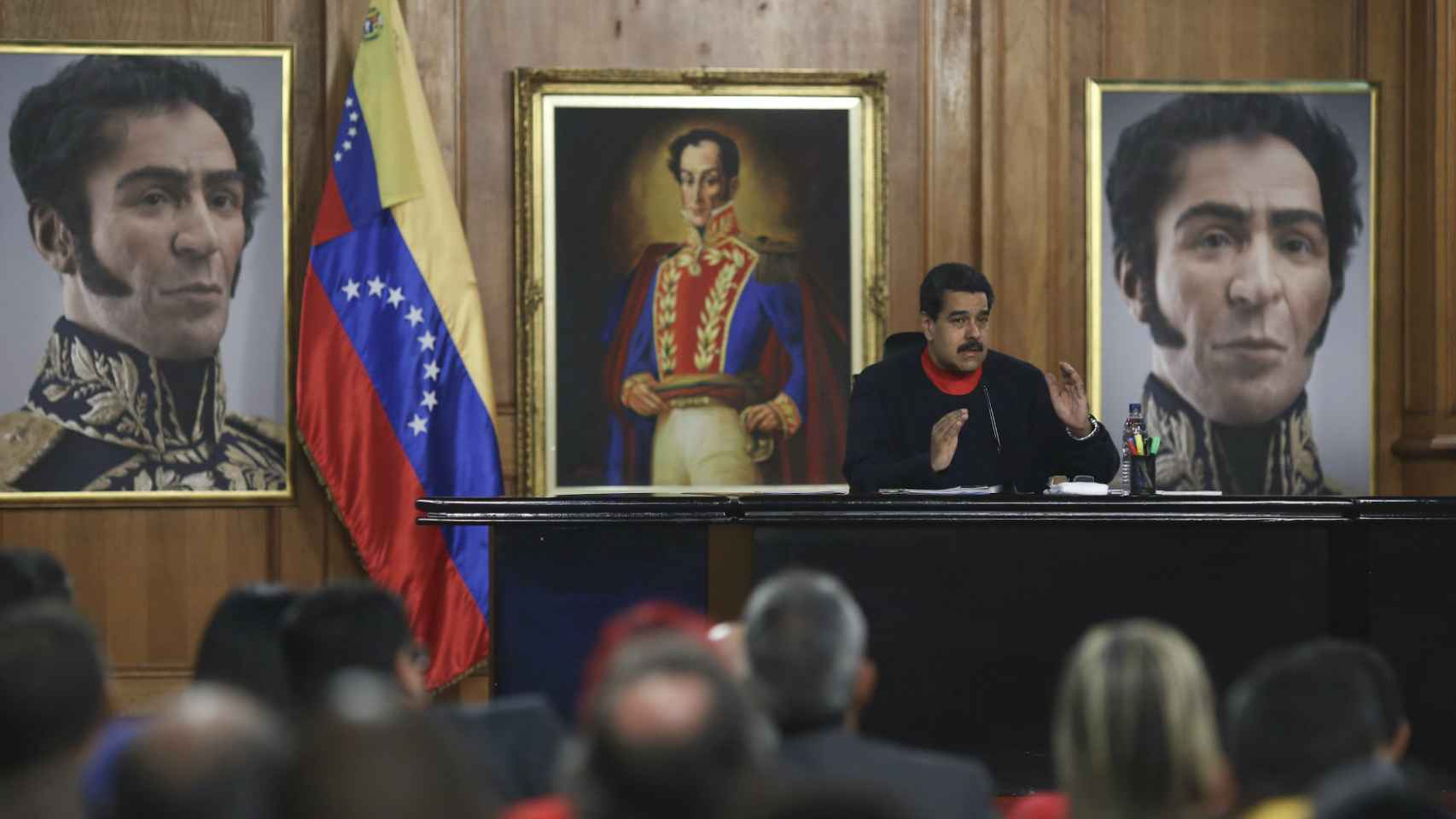 Maduro preside un país en situación límite.