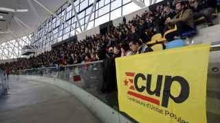 La asamblea de la CUP celebrada en Sabadell el pasado fin de semana.