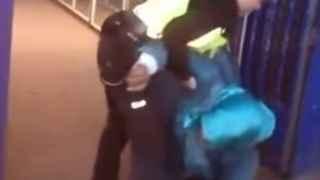 La Policía investiga el trato a una mujer en silla de ruedas en la frontera de Melilla