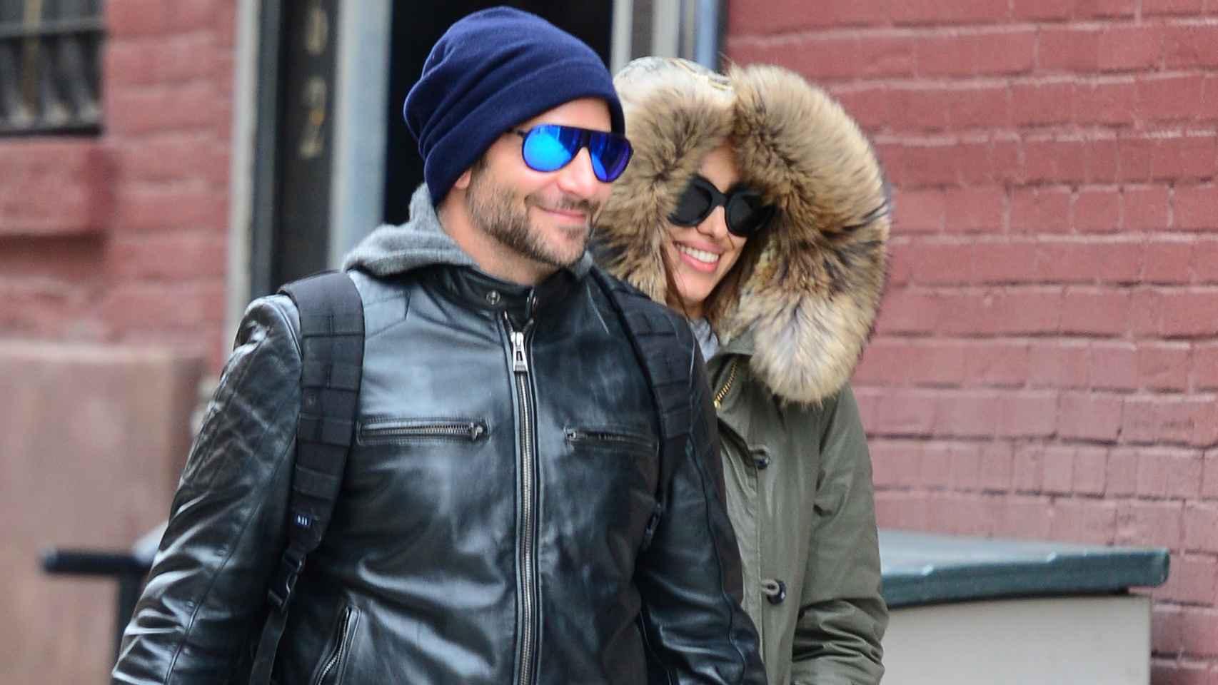 Bradley Cooper e Irina Shayk pasean su amor por Nueva York el pasado noviembre
