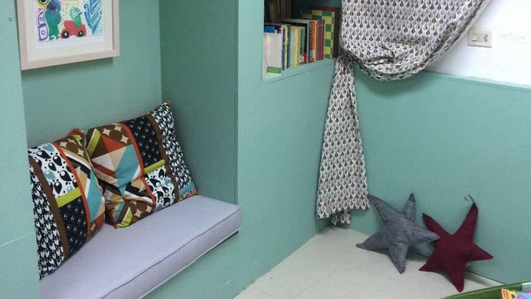 El espacio dedicado a los niños de Libu, en Bilbao.