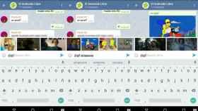 Telegram 3.4 añade GIFs automáticos y bots integrados