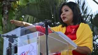 Gisela Mota el pasado 1 de enero