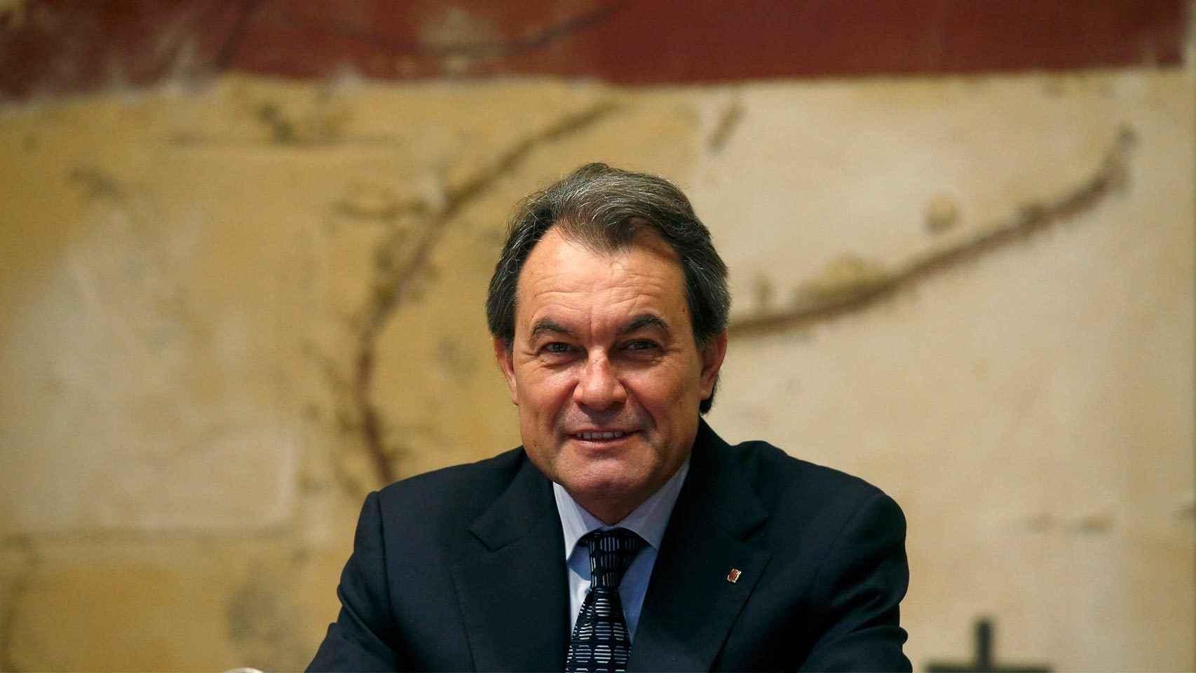 Artur Mas, durante la reunión semana del Govern.