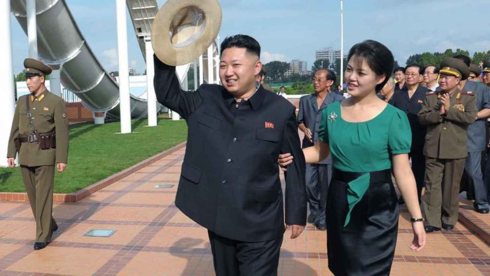 Julio de 2012: aparición de la 'primera dama' norcoreana.