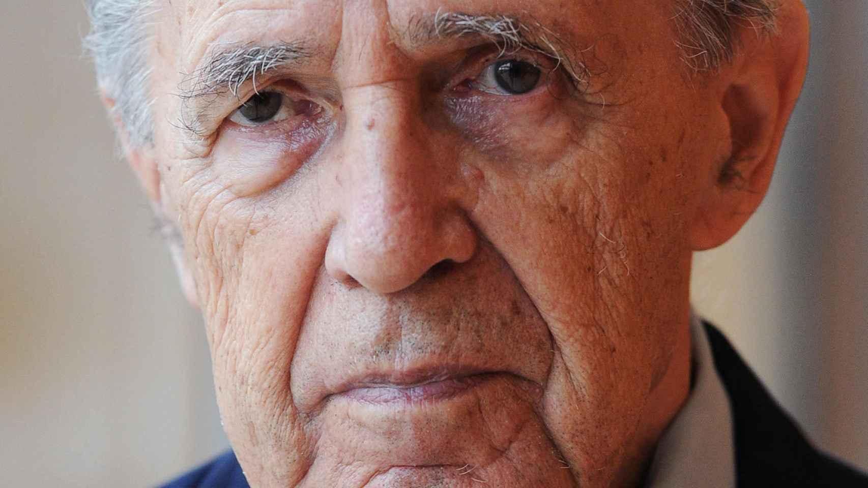 Pierre Boulez en 2011, cuando recibió la medalla de Austria.