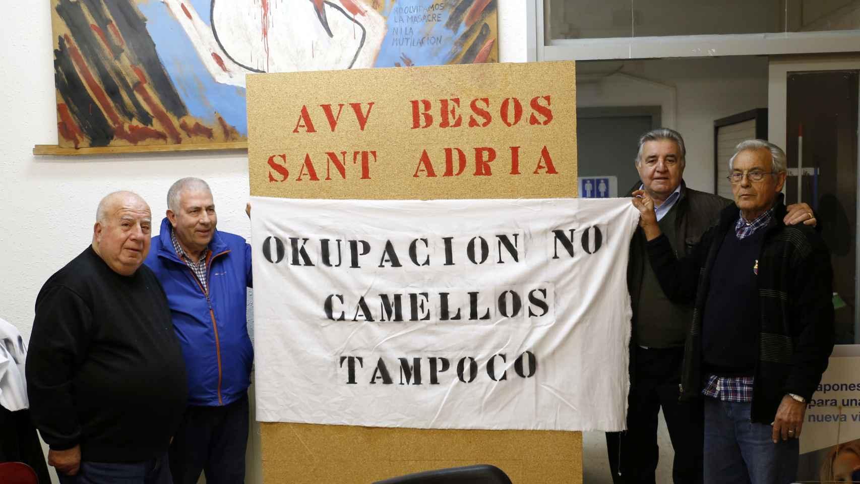 La Asociación de Vecinos organiza las protestas
